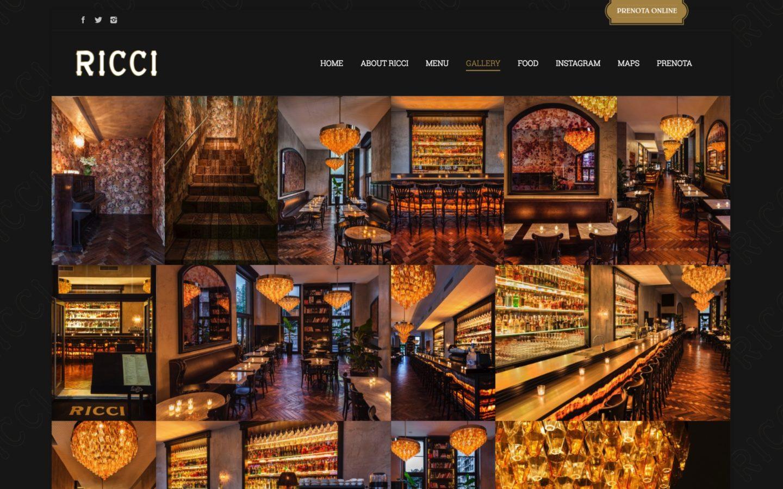 agenzia web realizzazione sito ristorante