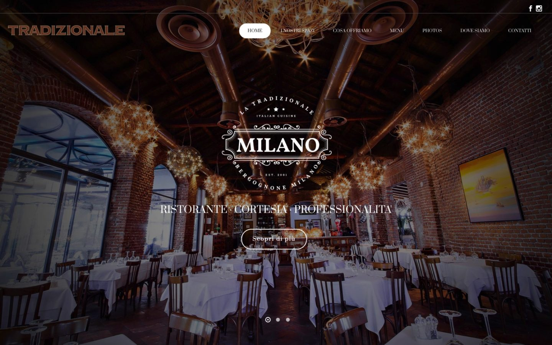agenzia web sito ristorante