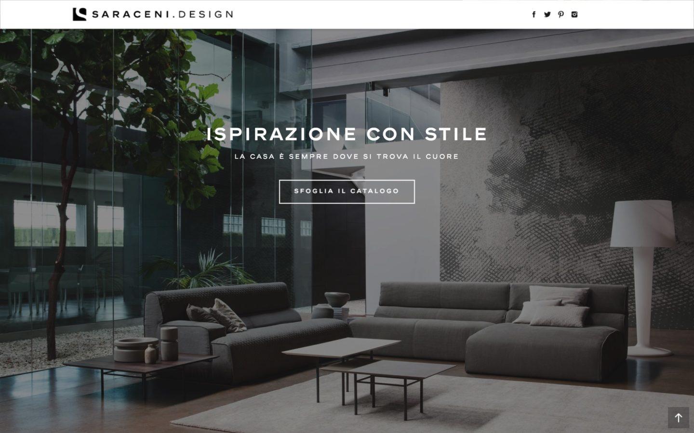web agenzy creazione sito web negozio architetti